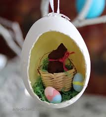 blown egg ornaments diorama easter egg ornaments eclectic
