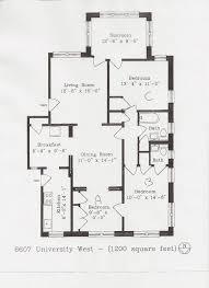Schematic Floor Plan by University Drive Floor Plans Washington University In St Louis