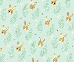 easter wrapping paper printable bunny pattern a3 a4 easter bunnies gift wrapping