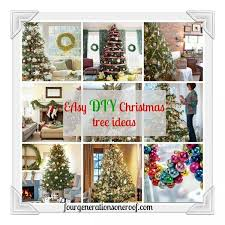 easy diy tree ideas via fourgenerationsoneroof