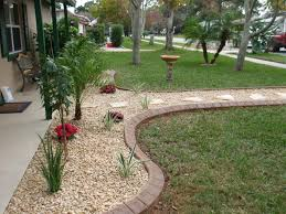 traditional landscaping with rocks river rock garden ideas