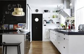 black and white kitchen what colour walls grey concrete countertop