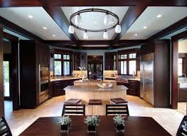 cabinets u0026 storages dark contemporary round wooden kitchen