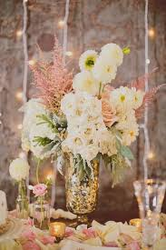flower centerpieces for wedding 36 shabby chic vintage wedding ideas deer pearl flowers