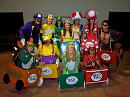 Mario Halloween Costumes Girls 10 Group Costumes Ideas Halloween