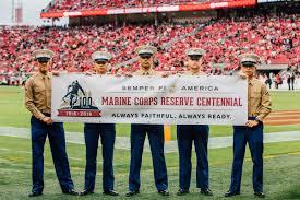 49ers Faithful Flag Nfl U0027s U201csalute To Service U201d Campaign Recognizes The Marine Forces