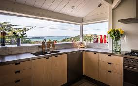 Kitchen Countertop Tile Visual Treat 20 Captivating Kitchens With An Ocean View