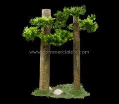 artificial column wrap needle pine tree needle pine