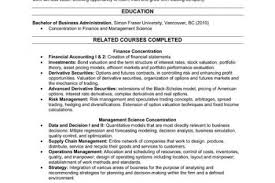 Mckinsey Resume Template Recent Graduate Resume Template Click Here To View This Resume