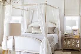 sheer bed canopy design ideas