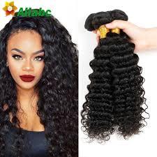 wet and wavy human hair weave hairstyles black malaysian deep curly virgin hair bundles 7a milky way wet