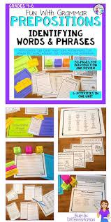 best 25 prepositional phrases ideas on pinterest teaching