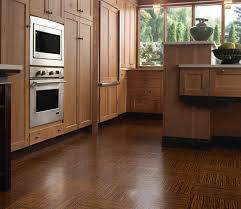 Laminate Flooring Wood Marvelous Modern Kitchen Design With Brown Textural Wooden