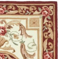 Burgundy Rug Safavieh Durarug Ivory Burgundy Oriental Rug Ezc472a