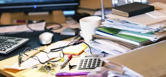 Cluttered Desk Albert Einstein A Messy Desk Is A Sign Of Genius According To Science Inc Com