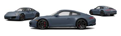 porsche graphite blue 2017 porsche 911 awd carrera 4s 2dr coupe research groovecar