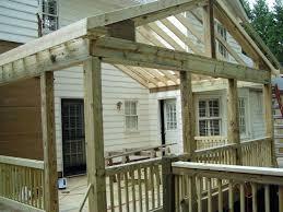 Enclosing A Pergola by Florida Rooms Built On A Deck Enclosed Sunroom Extension Deck
