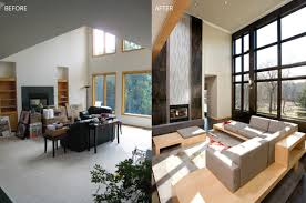 home design before and after transformation tuesday living room before after