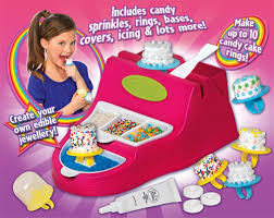 edible candy jewelry girl gourmet candy bead studio candy ring maker