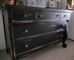 Black Furniture Paint by Shabby Chic Black Dresser Bestdressers 2017