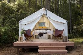 safari tent camping near san francisco