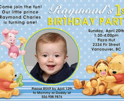 winnie the pooh birthday invitations gallery invitation design ideas