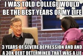 Hilarious College Memes - college years