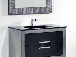 Designer Bathroom Vanities Cabinets Bathroom 41 Floating Wood Vanity With A Mid Century Flair Modern