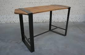 Table De Salon Industrielle by
