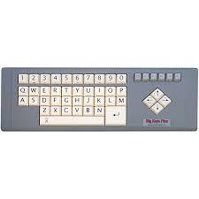 large print keyboards low vision keyboards