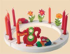 birthday rings ornaments and other festive decorations by grimms