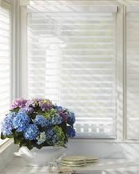alustra silhouette window shadings opened in kitchen smart
