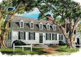 historic early virginia home plan 32521wp architectural