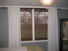 Painted Bamboo Blinds Bedroom Classy Bamboo Blind Ikea Furnishing Naturally Window