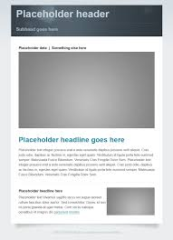 advanced bulletin stock layouts and sample templates granicus