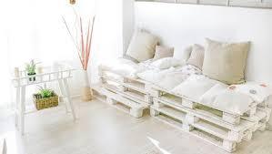 canapé lit palette canapé lit en palette maison et mobilier d intérieur