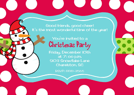christmas party invitation ideas marialonghi com