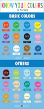 colors learn korean and colour on pinterest idolza