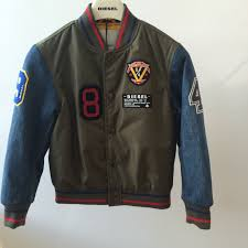 the key er jacket with badges kids trend for boyswear fall