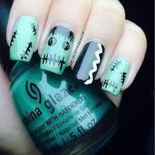 14 halloween frankenstein nail designs u2013 top new simple home