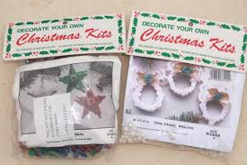 Decorate Your Own Christmas Ornament Kit by Bead Ornament Kit Lot Mary Maxim Kits To Make Beaded Christmas