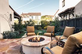 cornerstone landscapes santa barbara outdoor fire pit and