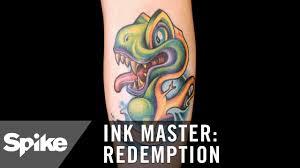 the pregnant dinosaur tattoo ink master redemption season 3