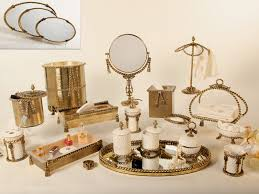 vintage styled bathroom accessories sets yonehomeblogspotcom old