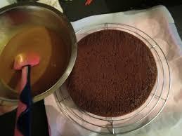 moelleux chocolat glacage caramel une irrésistible envie de sucré