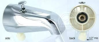 bathtub faucet shower attachment bathtub faucet shower diverter tub spigot valve diagram replace bath