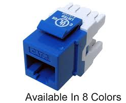 cat6 keystone jack component rated primus cable