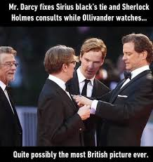 Funny English Memes - the most british picture ever teas british and harry potter