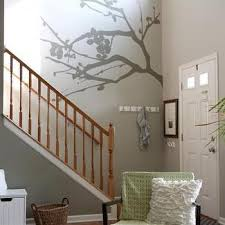 gray foyer wall colors design ideas