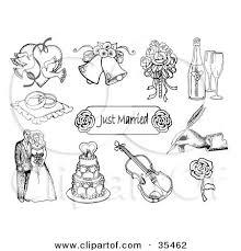 wedding bells rings images Royalty free rf clipart of wedding bells illustrations vector jpg